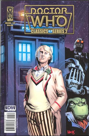 Doctor Who Classics Series 2 13-A by IDW