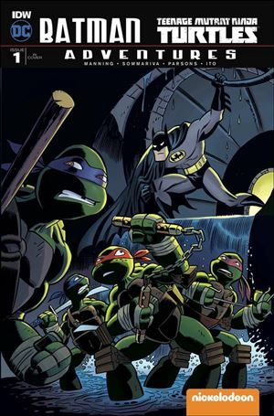 Batman/Teenage Mutant Ninja Turtles Adventures 1-E