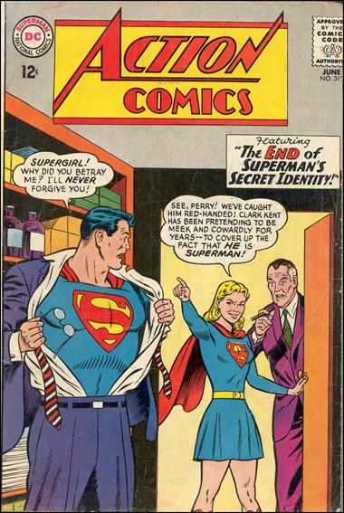Action Comics (1938) 313-A by DC