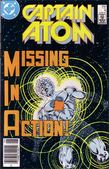 Captain Atom (1987) 4-A by DC