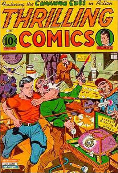 Thrilling Comics (1940) 48-A by Standard