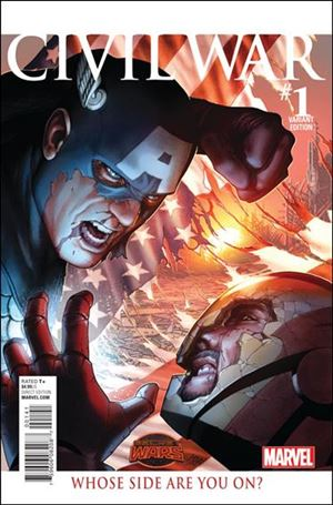 Civil War (2015) 1-E