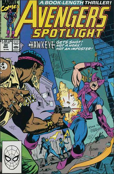 Avengers Spotlight 30-A by Marvel