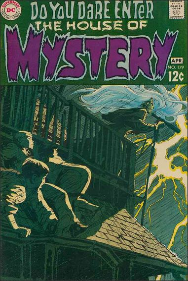 House of Mystery (1951) 179-A by DC