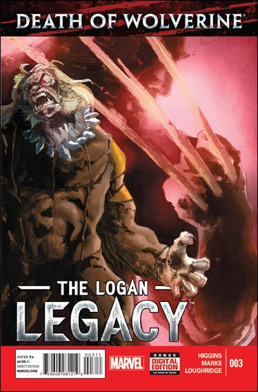 Death of Wolverine: The Logan Legacy 3-A by Marvel