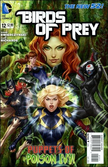 Birds of Prey (2011) 12-A by DC