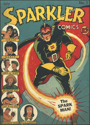 Sparkler Comics (1941) 1-A by United Features Syndicate