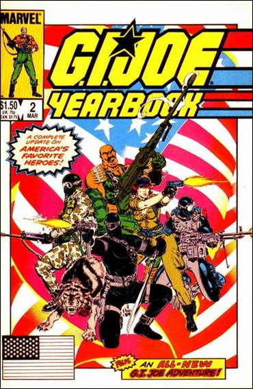 G.I. Joe Yearbook 2-A by Marvel