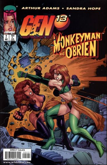Gen13/Monkeyman & O'Brien 2-B by Image
