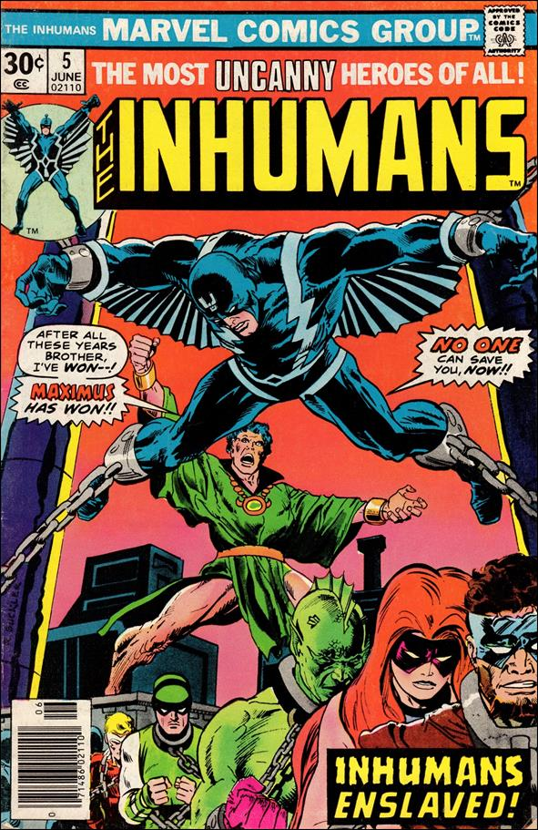 Inhumans (1975) 5-A by Marvel