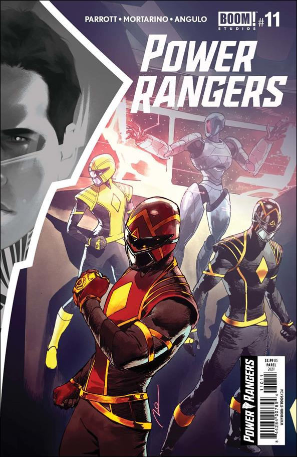 Power Rangers 11-A by Boom! Studios