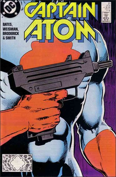 Captain Atom (1987) 21-A by DC
