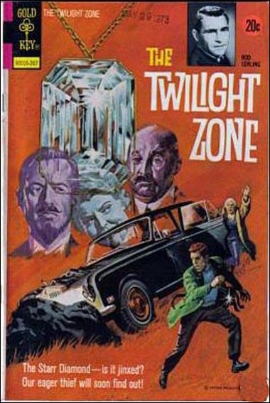 Twilight Zone (1962) 50-A by Gold Key
