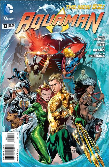 Aquaman (2011) 13-A by DC