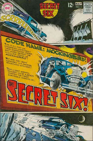Secret Six (1968) 1-A by DC