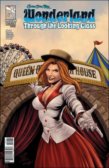 Grimm Fairy Tales Presents Wonderland: Through the Looking Glass 1-C by Zenescope Entertainment