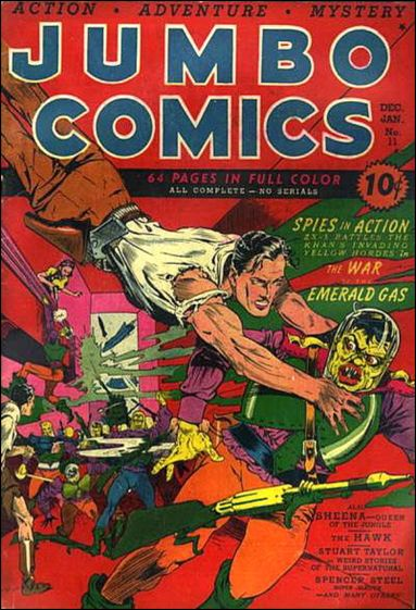 Jumbo Comics (1938) 11-A by Fiction House Magazines