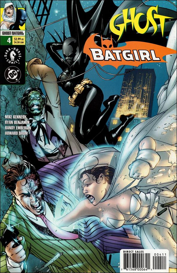 Ghost/Batgirl 4-A by Dark Horse