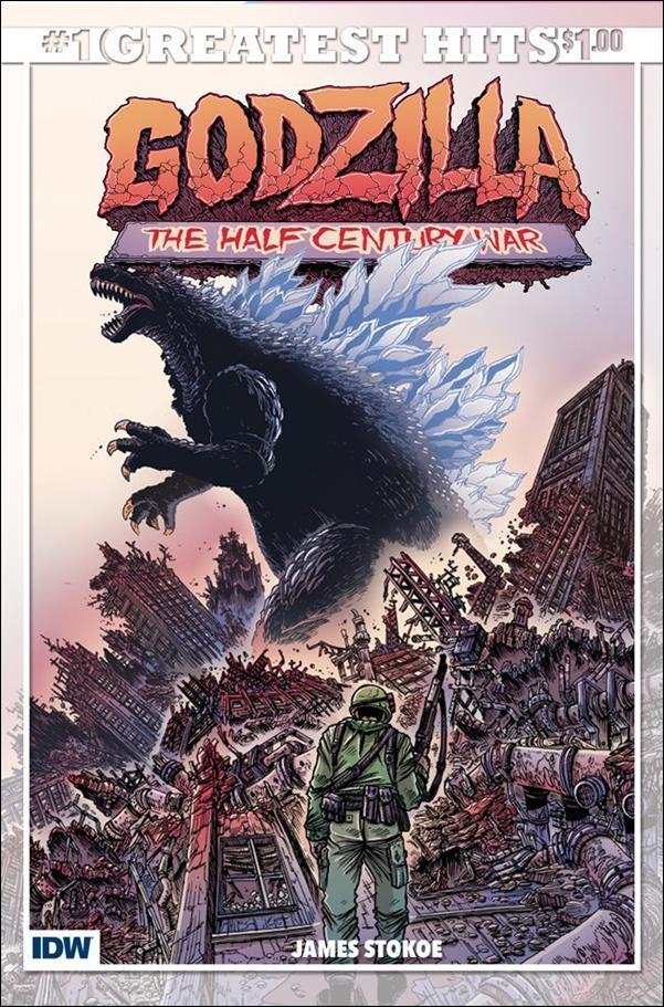 Godzilla: Half Century War  1-C by IDW