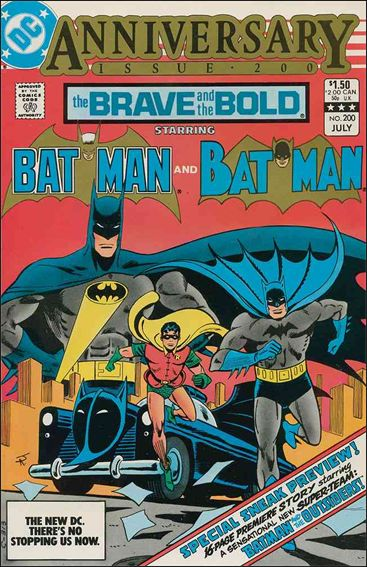 Brave and the Bold (1955) 200-A by DC