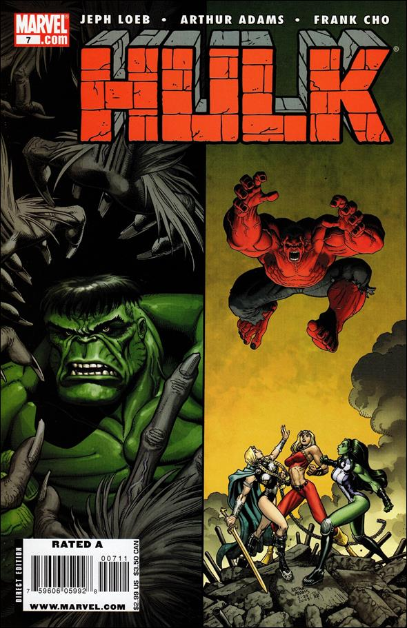 Hulk (2008)  7-A by Marvel