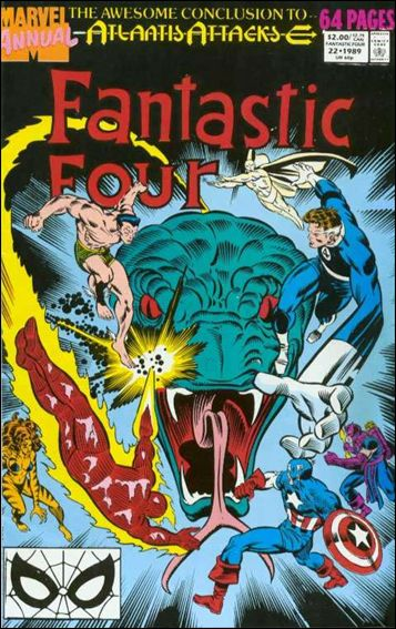 Fantastic Four Annual (1963) 22-A by Marvel