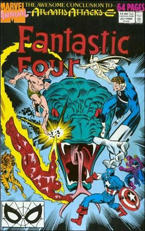 Fantastic Four Annual (1963) 22-A