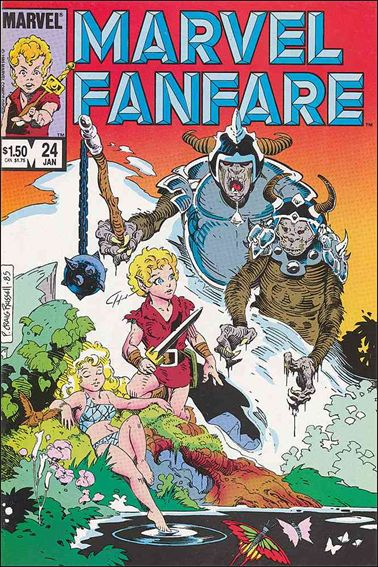 Marvel Fanfare (1982) 24-A by Marvel
