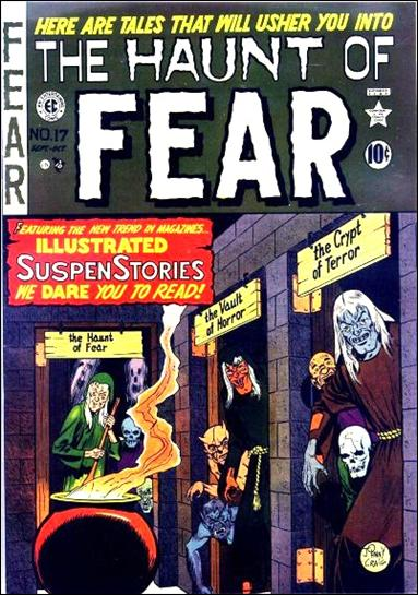 Haunt of Fear (1950) '17'-A by E.C.
