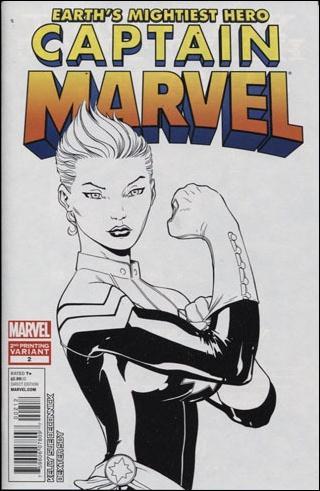 Captain Marvel (2012) 2-B by Marvel