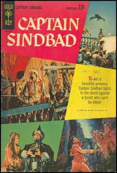 Captain Sindbad nn-A by Gold Key