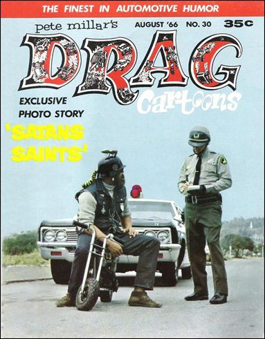 Drag Cartoons (1963) 30-A by Millar