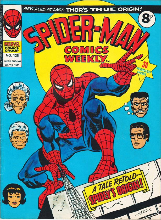 Spider-Man: Comics Weekly (UK) 125-A by Marvel UK