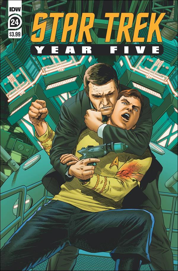 Star Trek: Year Five 24-A by IDW