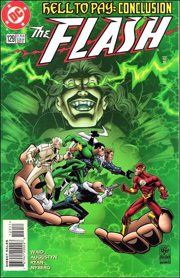 Flash (1987) 129-A by DC