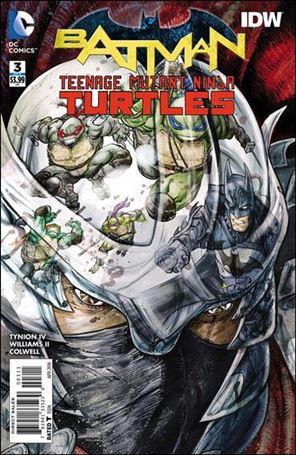 Batman/Teenage Mutant Ninja Turtles 3-A
