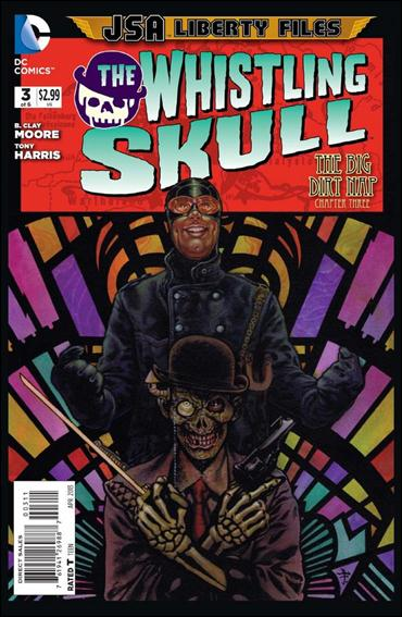 JSA Liberty Files: The Whistling Skull 3-A by DC