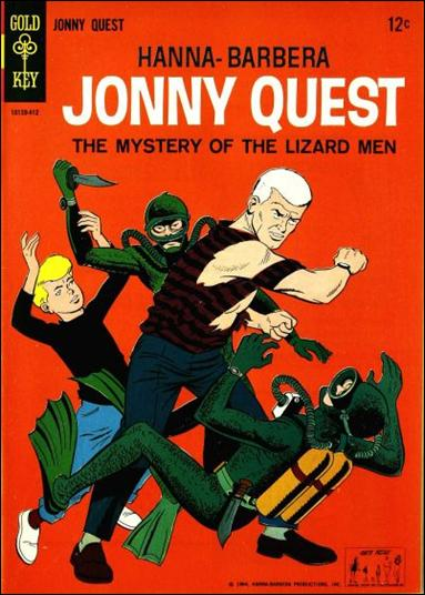 Simple Book Cover Quest : Jonny quest a dec comic book by gold key