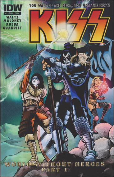 Kiss (2012) 3-A by IDW