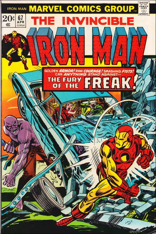 Iron Man (1968) 67-A by Marvel