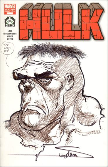 Hulk 100 (Hero Initiative) Cover Project 4-A by Marvel