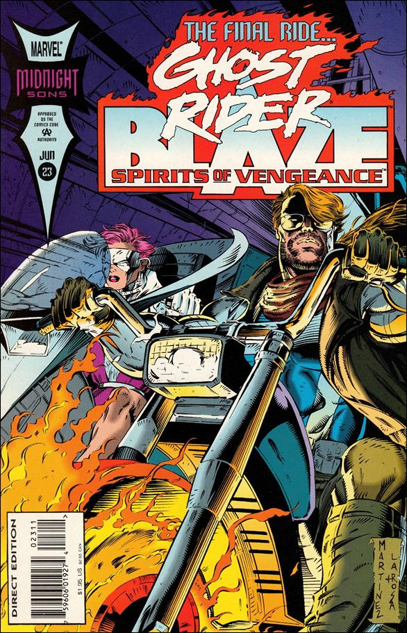 Ghost Rider/Blaze: Spirits of Vengeance 23-A by Marvel