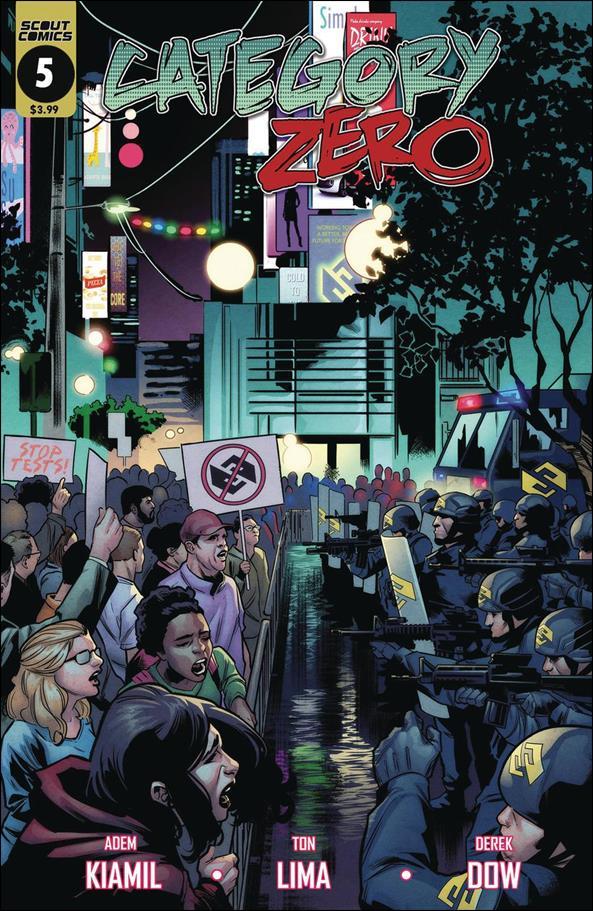 Category Zero 5-A by Scout Comics