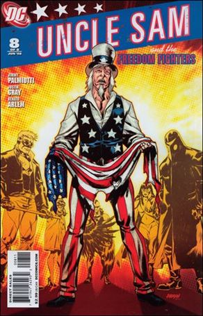 Uncle Sam and the Freedom Fighters (2007) 8-A