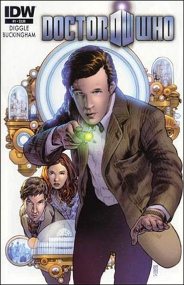 Doctor Who (2012) 1-A by IDW