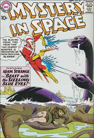 Mystery in Space (1951) 62-A by DC