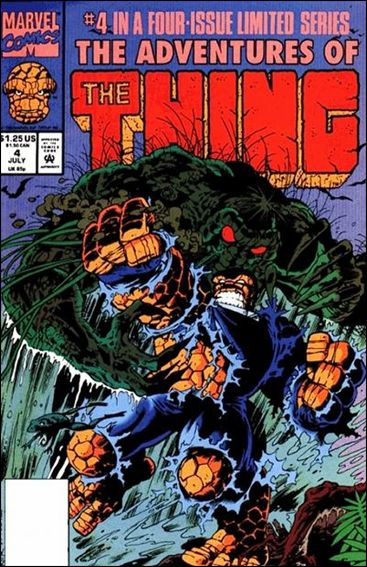 Adventures of the Thing 4-A by Marvel
