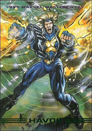 1993 Marvel Masterpieces (Base Set) 84-A by SkyBox