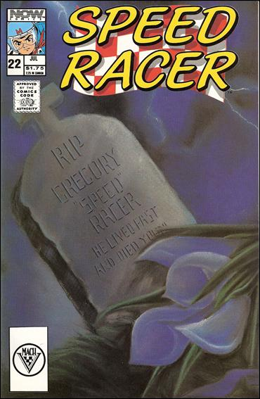 Speed Racer (1987) 22-A by Now Comics
