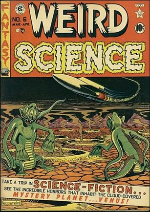 Weird Science (1950) 6-A